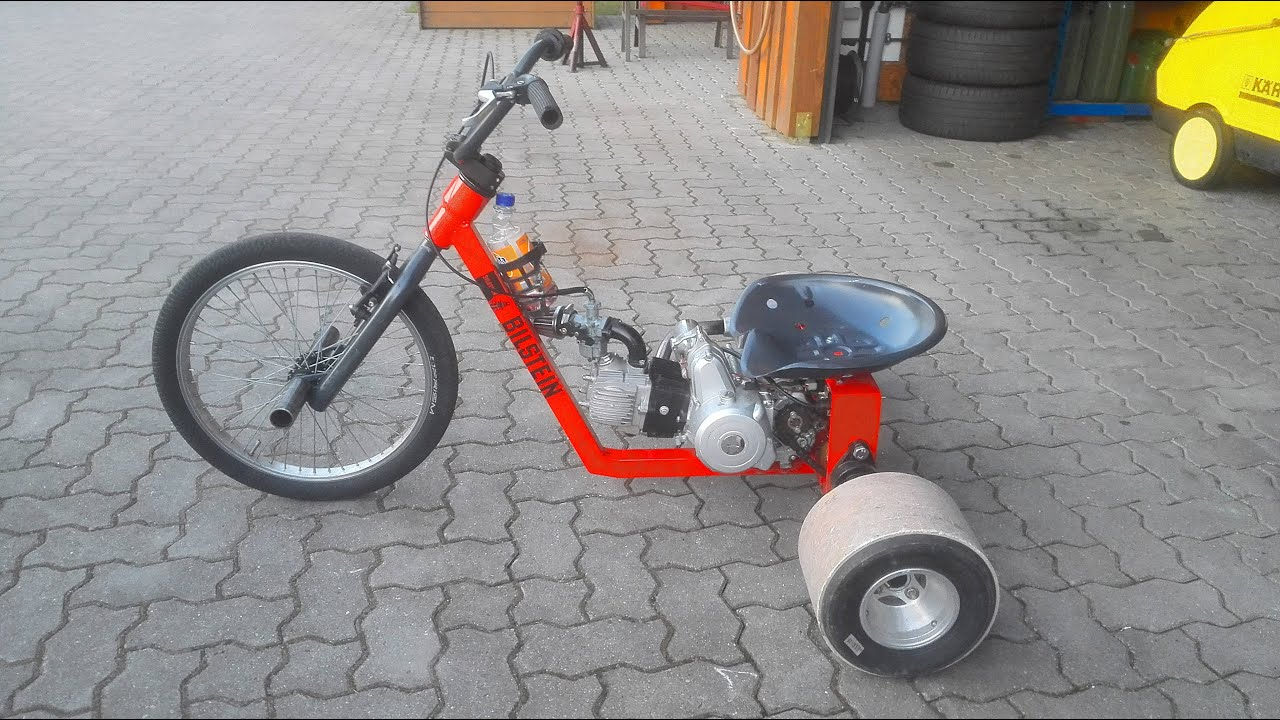 motorized drift trike build drive 2016 - Drift Trike Frame