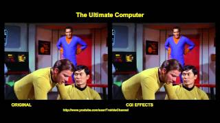 Star Trek - The Ultimate Computer - visual effects comparison