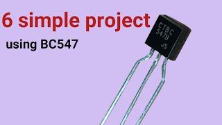 6 Simple BC547 circuit
