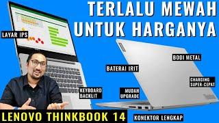 Murah Tapi Mewah dan Super Lengkap! Review Lenovo ThinkBook 14 - Indonesia