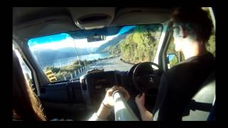 NewZealand - Queenstown to Auckland in a Mighty Campervan - Shot with GoPro