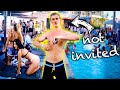 SNEAKING INTO AN EXCLUSIVE HOLLYWOOD POOL PARTY