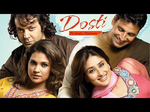 Download Dosti - Friends Forever | Akshay kumar | Bobby Deol | Kareena Kapoor | Romantic Movie