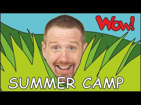 Summer Camps with Steve and Maggie | English for Kids