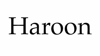 Haroon's Jewelry collection