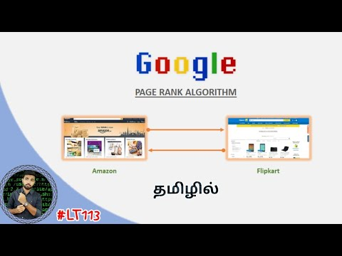 Google PageRank Algorithm With Simple Examples | Tamil