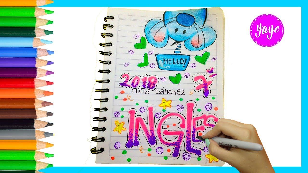 Ideas Para Marcar Cuadernos Regreso A Clase Cómo Marcar