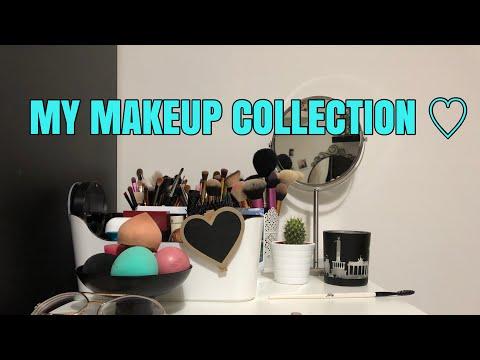 My Makeup Collection 2018 // Ros4lba ♡