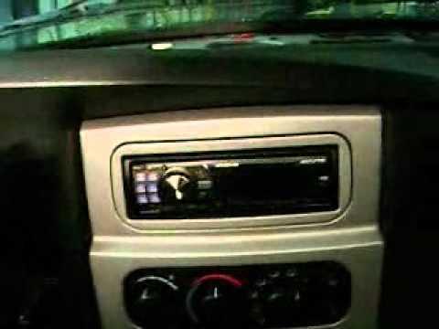 2008 dodge ram dash speakers