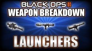 Black Ops 2 Weapon Breakdown Ep 5. Launchers (SMAW, FHJ-18 AA, RPG)