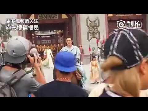 [Sở Kiều Truyện][Hậu trường 16] - Vũ Văn Nguyệt Lâm Canh Tân cưỡi ngựa siêu soái