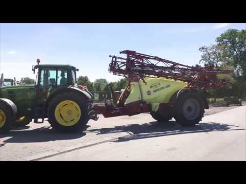 160 ha... aż 11 kombajnów New Holland i inne maszyny rolnicze