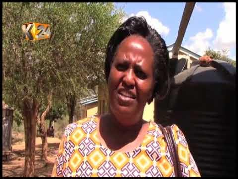 Women group in Kitui receives 9 water tanks to help in water harvesting