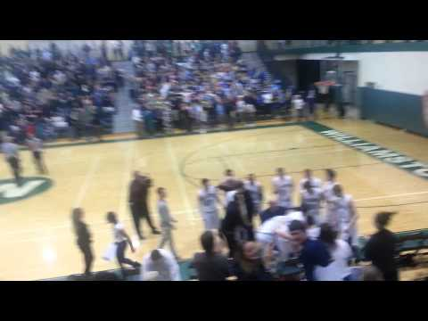 Williamston high school buzzer beater
