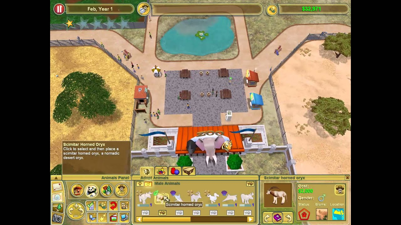 Zoo Tycoon 2 - African Adventure: The African Diversity Zoo Walkthrough PC