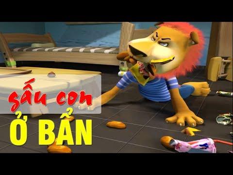 GẤU CON Ở BẨN - Phim hoạt hình vui nhộn hài hước nhất - Hoạt hình Việt Nam Hay Nhất 2017