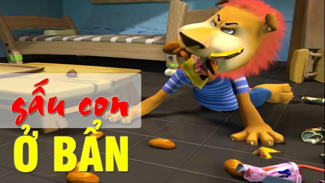 GẤU CON Ở BẨN – Phim hoạt hình vui nhộn hài hước nhất – Hoạt hình Việt Nam Hay Nhất 2017