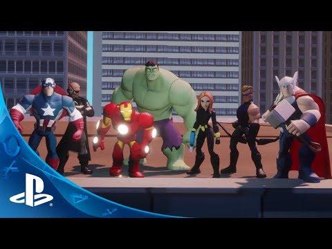 Disney Infinity: Marvel Super Heroes Announcement Trailer