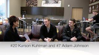 UMD Hockey 'Bulldog Banter' With Karson Kuhlman and Adam Johnson