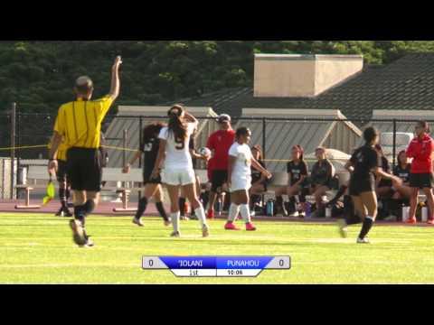 2016 Girls Soccer: Punahou vs. 'Iolani January 5, 2016