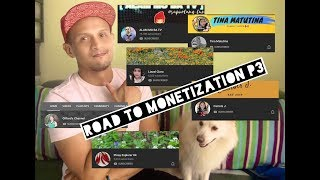 ROAD TO YOUTUBE MONETIZATION Collaboration with fellow Monetize YouTubers Part 3