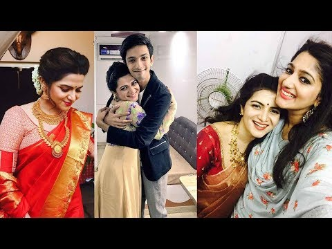 Vijay Tv Anchor DD-Dhivyadharshini Family Photos | Vijay Tv VJ DD Unseen Photos with Friends