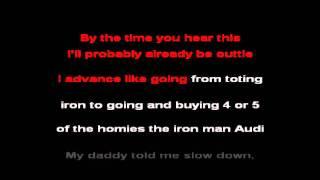 Eminem - Lighters Feat. Bruno Mars Karaoke