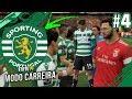 NOVA CONTRATAÇÃO ESTREIA-SE NO DERBY - FIFA 19 Sporting Modo Carreira #4