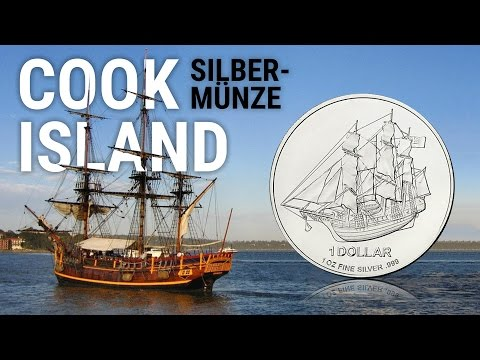 Silber COOK ISLANDS - 1 Unze SILBERMÜNZE - Münze, Tube & Masterbox - Anlagesilber als Krisenschutz