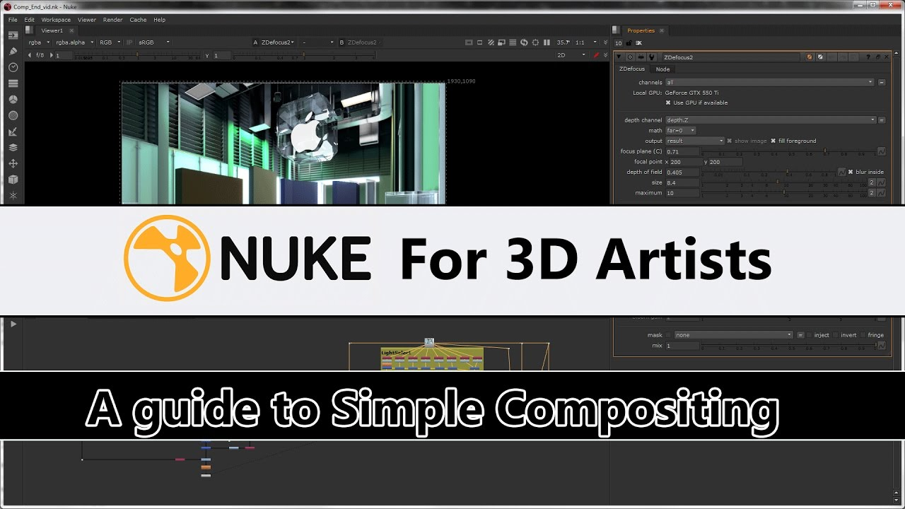 Nuke For 3D Artists - Simple Compositing