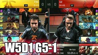 fnatic vs g2 esports   game 1 s6 eu lcs summer 2016 week 5 day 1   fnc vs g2 g1 w5d1 1080p