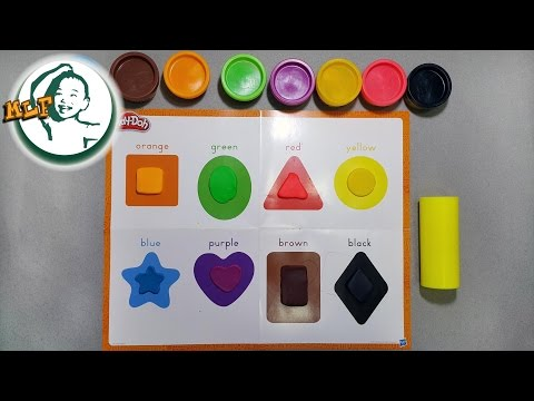 Thumbnail: Learn shapes for kids with Play-Doh Shape & Learn
