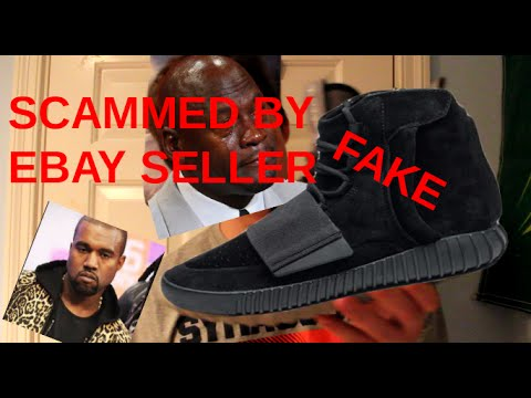 cbbfb11b0 I GOT SCAMMED FOR FAKE YEEZY 750s-HILARIOUS REACTION - YouTube