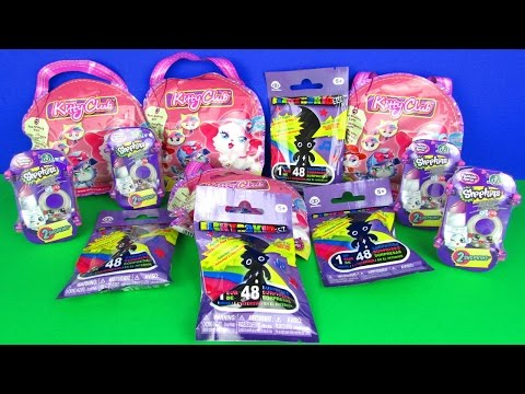 Ultimate Blind Bags Opening Kitty Club Shopkins Fashion Spree Electrokids Surprises