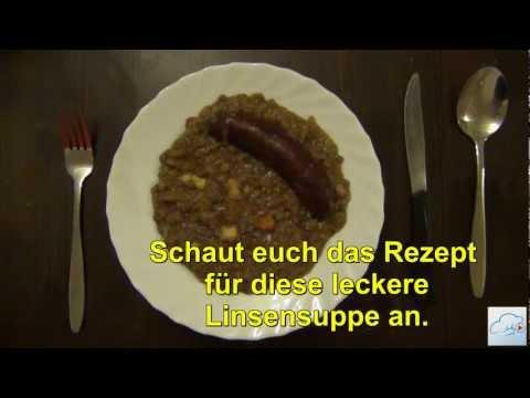 Linsensuppe kochen  Das begehrte Linseneintopf Rezept von Oma