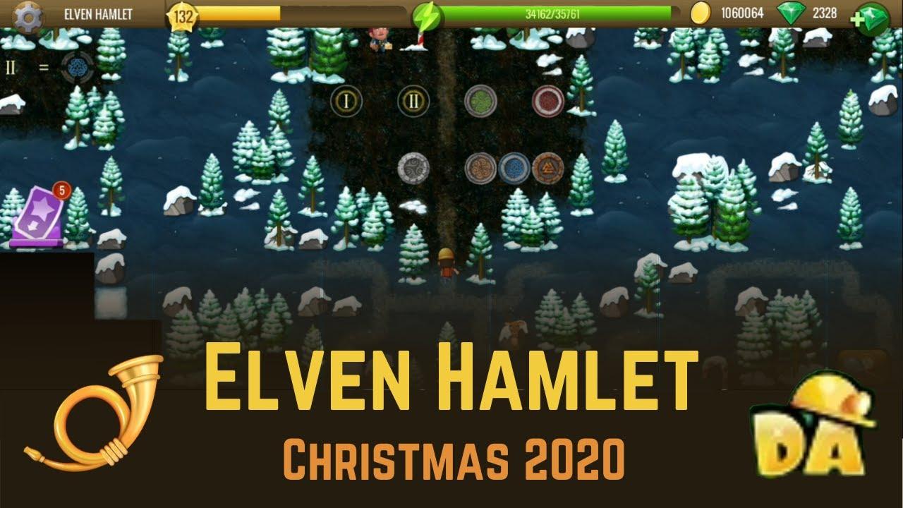 Elven Hamlet   #6 Christmas 2020   Diggy's Adventure   YouTube