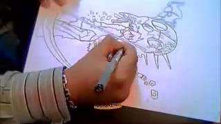 speedman how to draw maka albarn 360p