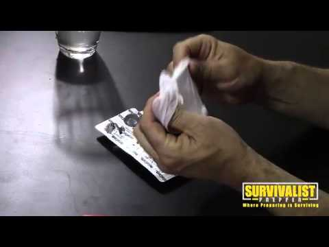 Bug Out Bag Toilet Paper Tablets Youtube