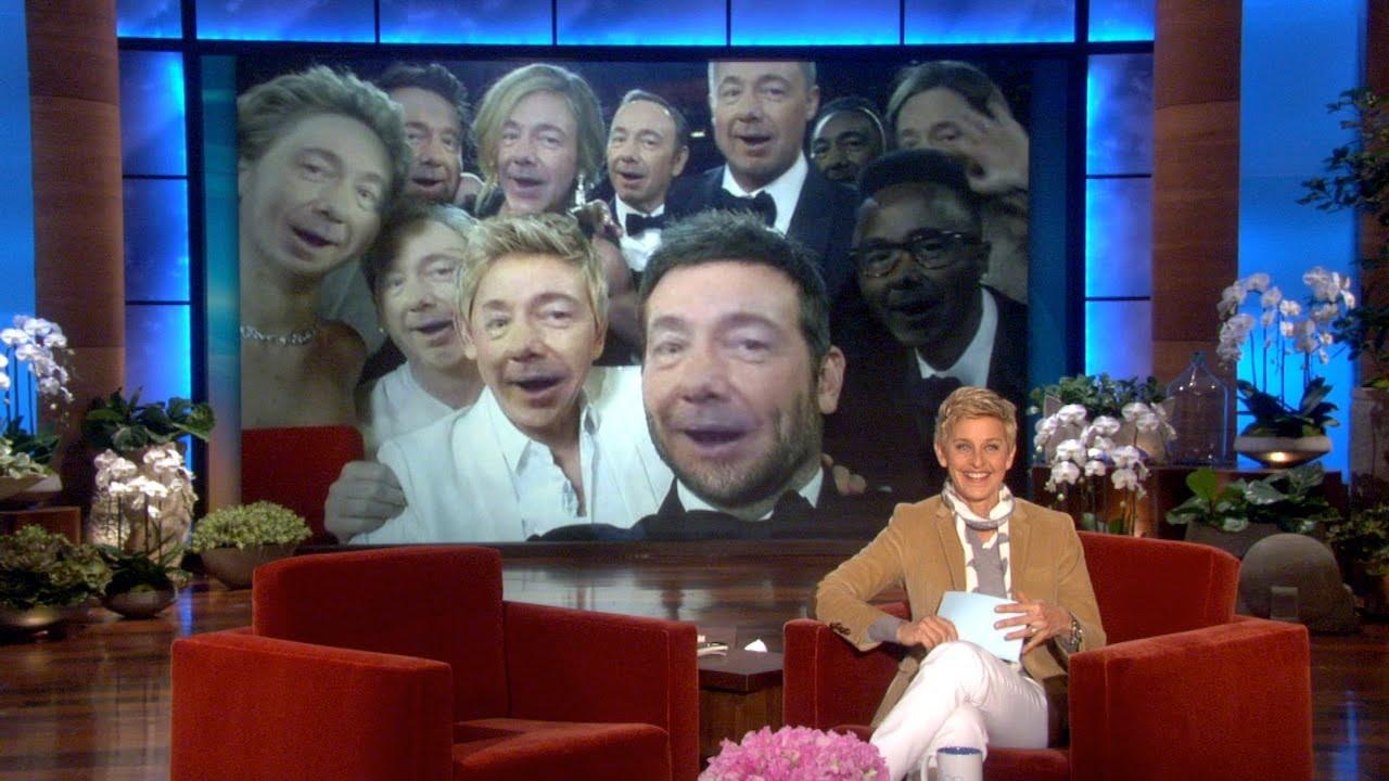 Reenact Ellen S Oscar Selfie Youtube