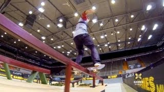 GoPro:  Skate Street with Sean Malto & Felipe Gustavo - Summer X Games 2013 - Munich