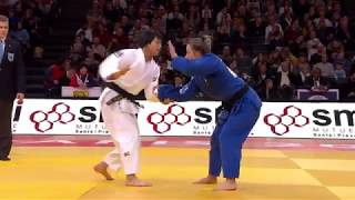 Uta Abe JPN  - Snick Van BEL 1:0 -52Kg Grand Slam Paris 2018 Semi Final