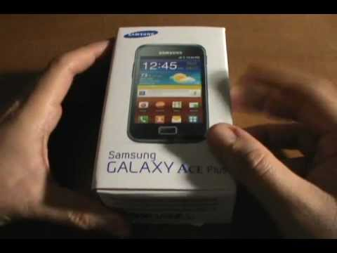 Unboxing Galaxy Ace Plus GT-S7500L (EspañolMX)