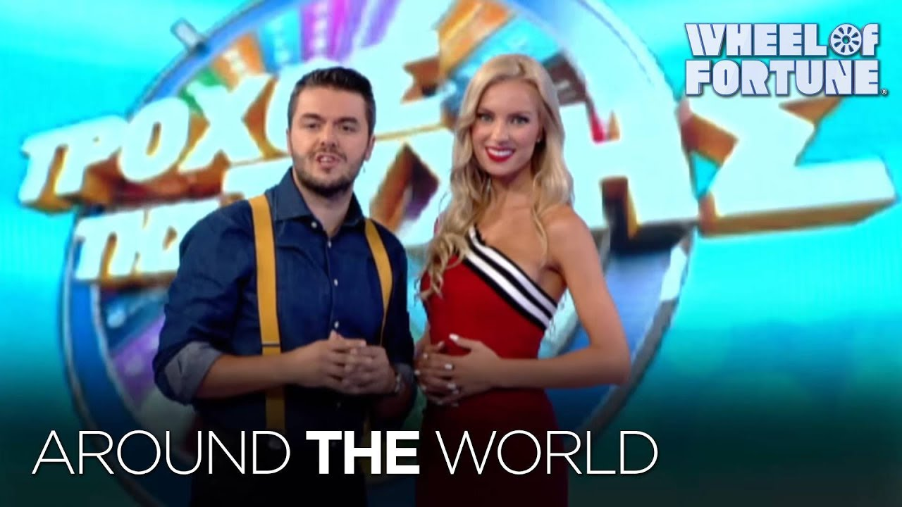 Spin Around The World With Wheel Wheel Of Fortune YouTube