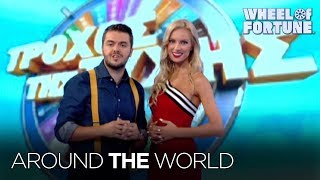 Spin Around the World with Wheel! | Wheel of Fortune