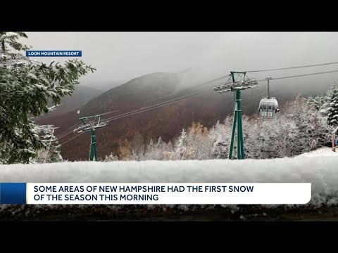 Parts of NH wake up to snow