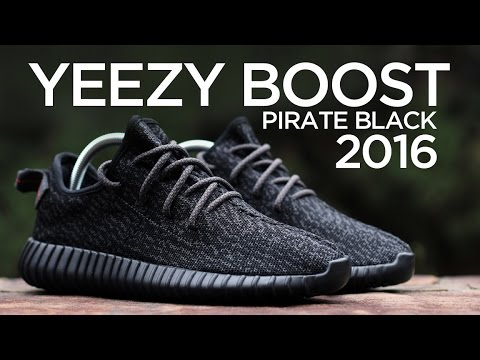 Guarda piu 'da vicino: adidas yeezy impulso 350 pirata nero (2016) su youtube