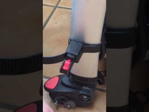 Lascal buggy board strap removal