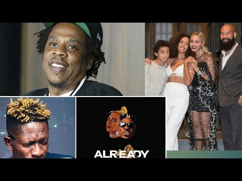 Jay Z and family, dances to Already Beyonce ft Shatta Wale full video [2019] plus grammy norm