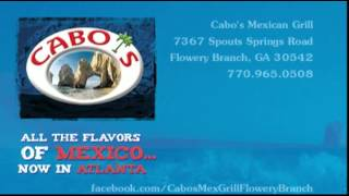 Cabos Mexican Grill in Flowery Branch Bingo Night - Come On Down!