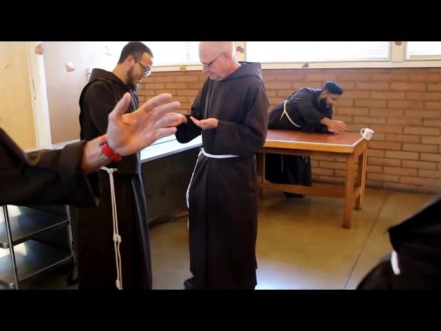 Capuchin Friars Mannequin Challenge